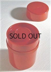 茶筒 プラスチック color: 赤
