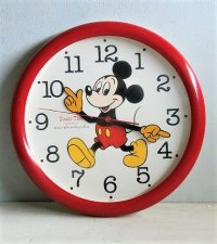 Disney Time QUARTZ SHAFT  MICKEY MOUSE ミッキーマウス  ウォールクロック  WALT DISNEY PRODUCTIONS