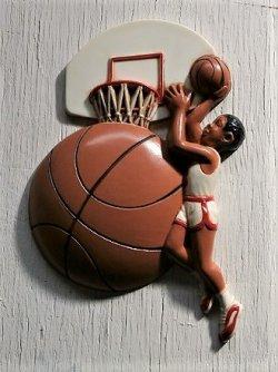 画像1: Burwood Product Co  ウォールデコ/ウォールハンギング  バスケットボール