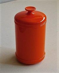 伊勢丹 プラスチック製キャニスター color: オレンジ