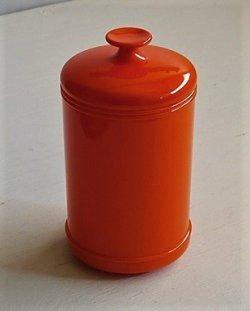 画像1: 伊勢丹 プラスチック製キャニスター color: オレンジ