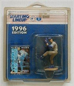 画像1: Kenner   STARTING LINEUP1996 EDITION    YOUNG SENSATION   Hideo Nomo  Dodgers    野茂英雄 フィギュア   プロテクトプラスチックカバー付