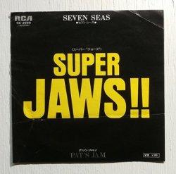 """画像1: EP/7""""/Vinyl/Single  """" SUPER JAWS!! (スーパー・ジョーズ)  PAT'S JAM(パッツ・ジャム)""""  SEVEN SEAS セブン・シーズ  (1975)  RCA"""