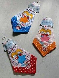 UAUMU  Handkerchief ハンカチーフ   Petit Passage  RICH&HONEY  男の子・女の子・星   綿100% size: 33×33(cm)  各1枚 color: 赤、青、黄