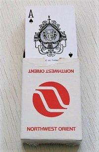 Playing Cards トランプ  NORTHWEST ORIENT  ノースウエストオリエント航空   MICHAUD R.O.C.