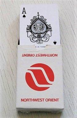 画像1:  Playing Cards トランプ NORTHWEST ORIENT(ノースウエストオリエント航空) MICHAUD R.O.C.