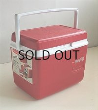 "Rubbermaid  クーラーBOX ""RUBBERMAID 10"" MODEL:1910  color: クラッシックレッド  容量:約9.45L(2.5GAL)350ml缶12個仕様   NADE IN U.S.A."