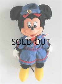 ミニーマウス  ラバーフェイス プラッシュドール/ぬいぐるみ  YOUNG EPOCH CO., Ltd./ウォルトディズニーエンタープライズ  WALT DISNEY PRODUCTION