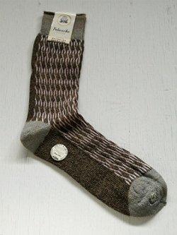 画像1: 福助足袋株式会社  Fukusuke SOCKS 福助靴下  FRESH COLOR MODERN TONE   size: 25cm  ナイロン製