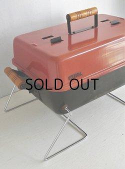 画像1: THERMOS サーモス Table Top Charcoal Grill テーブルトップグリル  size: L54(ハンドルを含む)・W30・ H28(cm)  USED