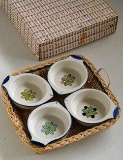 画像1: Rosier ロジエ オードブルフォーセット 陶器