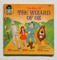 "EP/7""/Vinyl/Single  WALT DISNEY BOOK AND RECORD   "" The WIZARD OF OZ (オズの魔法使い)""  SEE HEAR READ  (1978)   Disnyland"