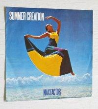 """EP/7""""/Vinyl/Single  MAX FACTOR '71 夏 SUMMER CREATION   サマー・クリエーション(夏の日の出逢い)/潮風に消えた恋 A GIRL In Love  ジョーン・シェパード  (1971)  LIBERTY"""
