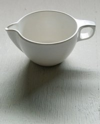 Watertown Lifetime Ware   MADE IN U.S.A.  Melamine Creamer メラミン製クリーマー ホワイト