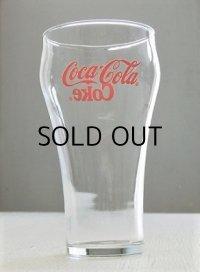 Coca-Cola/Coke  U.S.コカ・コーラ ベルグラス  size: Φ7.6×H15.3×Φ5.2(cm)