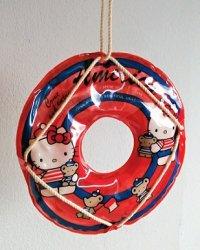 SANRIO サンリオ Come and enjoy America  キティ 浮輪の飾り  各1個