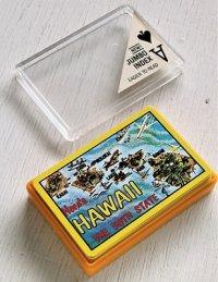 トランプ(ケース入)/プレイングカード  ハワイ土産/スーヴェニア  JUMBO INDEX   Here's HAWAII THE 50TH STATE