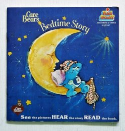 "画像1: EP/7""/Vinyl  絵本&レコード   BOOK & RECORD SETS  ケアベア Care Bears Bedtime Story  P16  (1983)  Kid Stuff Records"