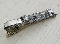 TIPIN ネクタイピン  SL/蒸気機関車 D51211  size:L4.7/W0.8/H1.7(cm)