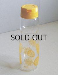 再入荷  PYREX パイレックス  MADE IN JAPAN  IWAKI GLASS UNDER LIC   スライスレモン柄   ドリンクサーバー  容量:950cc