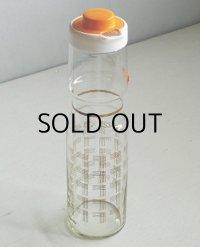 Hario  FREEZER+ POT  ハリオ耐熱ガラス  フリーザーポット 850ml   幾何学模様(縦横各4本ライン交差) ゴールド