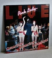 """LP/12""""/Vinyl  アメリカ!アメリカ!アメリカ!  ピンクレディー   (1978)  ライナー、P4写真集付 """