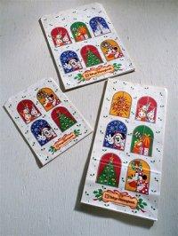 Tokyo Disnyland 東京ディズニーランド  クリスマス仕様紙袋 3サイズ    18枚セット( S 5, M 8, Long 5)