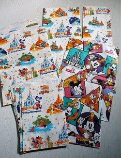 画像1: Tokyo Disnyland 東京ディズニーランド  紙袋 2種類     14枚セット