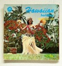 """ソノシート/7""""  ディスク・ポピュラー・パレード第10集  Hawaiian Holiday(ハワイアン・ホリディ)  the waikiki boys(ワイキキ・ボーイズ)  プア・アルメイタ/ ワイキキ・クァルテット/ ジョージ・デラニー/ チャリリー・ミラー/スターリング・モスマン/ アーヴィン・カレオラ二   早津敏彦  (1962)  ディスク社"""