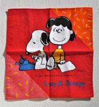 ハンカチ  Lucy&Snoopy  ルーシー&スヌーピー