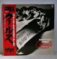 """LP/12""""/Vinyl   ロックン・ロール・エンジェル  クールス  (1979)  CANYON  帯付/ライナー"""