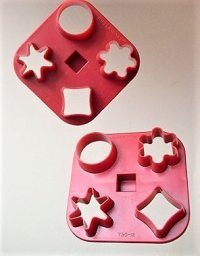Tupperware  タッパーウェア  クッキーカッター/クッキー型  各1個