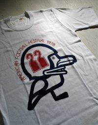 "Tシャツ  AMERICAN FOOTBALL FESTIVAL 1978 ""22""   GO! GO! CAPPY ""22""  サイズ: M"