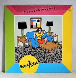 """画像1: LP/12""""/Vinyl  クリーム・ソーダ・プレゼンツ  ブラック・キャッツ  (1981)  invitation ライナー"""