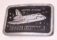 UNITED STATES SPACE SHUTTLE スペースシャトル ベルトバックル SOLID PEWTER