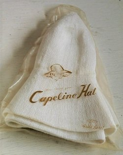 画像1: A.B.C. Asahi Beret  New Len net  yarn  Capeline Hat