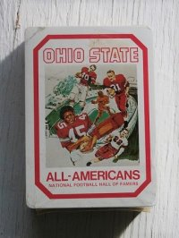 OHIO STATE  ALL-AMERICAN NATIONAL FOOTBALL HALL OF FARMERS Playing Cards  (1979)  カレッジフットボール ハイズマン賞の歴代受賞者  コレクターズプレイングカード/トランプ  未開封