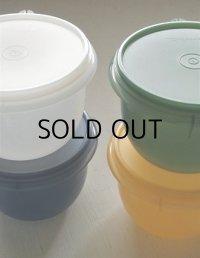 Tupperware タッパーウェア  Santa Fe Bowl 4pc Set   color: ブルー、グリーン、イエロー、ホワイト