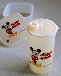 象印マホービン  MICKEY MOUSE  ミッキー・マウス  プラスチック水筒&保存容器セット
