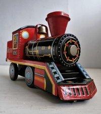 寺井商店 DAIYA  ブリキ 蒸気機関車 0741 Western  size: L23.5/ H13/W7.3(cm)