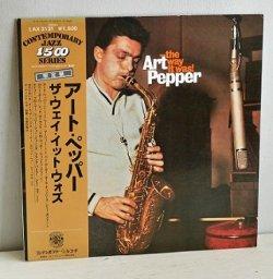 """画像1: LP/12""""/Vinyl  ザ・ウェイ・イット・ウォズ  アート・ペッパー  (1977)  King Records  帯/ライナーあり"""