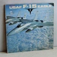 "LP/12""/Vinyl  SUPER FIGHTER USAF F-15 EAGLE  (1981) WINDMILL  解部図&ポスター(×2サイズ)、大型図(×6サイズ)  帯なし"