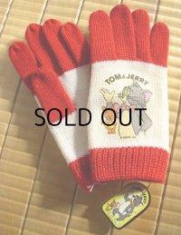TOM&JERRY トム&ジェリー  子供用キャラクター手袋(100%ウール)  サンエース(株)