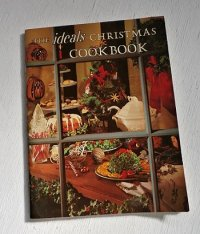 "洋書 レシピ本  ""THE ideals CHRISTMAS COOKBOOK""  IDEALS PUBLISHING CORP.,  1975 First Printing"
