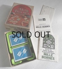 Parker Brothers   FRENCH CARD GAME カードゲーム/ボードゲーム  Mille Bornes(ミルボーンズ)  1971