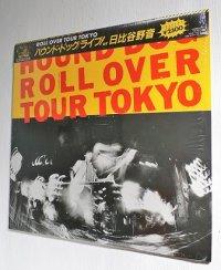"LP/12""/Vinyl   ROLL OVER TOUR TOKYO  ライブ!at日比谷野音  ハウンド・ドック  (1982)  CBS SONY  帯、シュリンク、カラーフォトブック、歌詞カード"