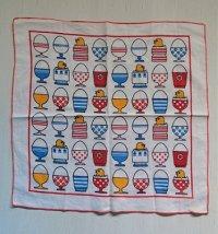 キッチンクロス/布巾  エッグスタンド、たまご、ひよこ