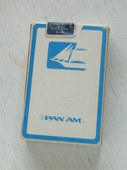 """画像1:  THE U.S. PLAYING CARDS COMPANY  プレイングカード/トランプ  """"PAN AM"""" パンアメリカン航空"""