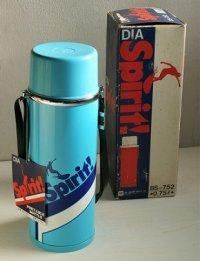 ダイヤ魔法瓶工業  PORTABLE BOTTLE  DIA Spirit!   サーフィン  BS-752 0.75L