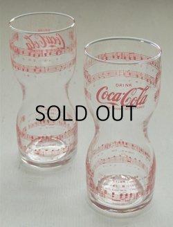 画像1: コカ・コーラ  Come on in coke   楽譜  トールグラス/タンブラー  2個セット